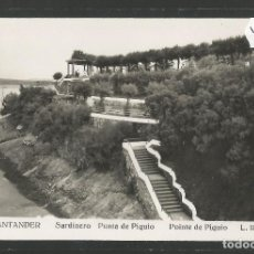Postales: SANTANDER -139 - SARDINERO PUNTA DE PIQUIO - FOTOGRAFICA ROISIN - (47.582). Lote 82891812