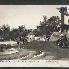 Postales: SANTANDER -140 - SARDINERO JARDINES DE PIQUIO - FOTOGRAFICA ROISIN - (47.583). Lote 82891864