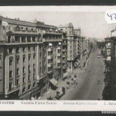 Postales: SANTANDER -205 - AVENIDA CALVO SOTELO - FOTOGRAFICA ROISIN - (47.588). Lote 82892044