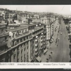 Postales: SANTANDER -215- AVENIDA CALVO SOTELO - FOTOGRAFICA ROISIN - (47.598). Lote 83139596