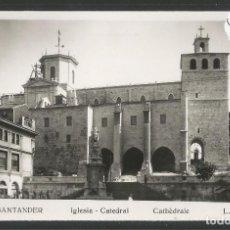 Postales: SANTANDER -216-IGLESIA CATEDRAL - FOTOGRAFICA ROISIN - (47.599). Lote 83139652