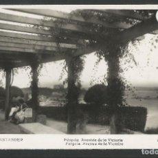 Postales: SANTANDER -252- PERGOLA AVENIDA VICTORIA - FOTOGRAFICA ROISIN - (47.602). Lote 83139868