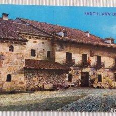 Postales: ANTIGUA POSTAL DE SANTILLANA DE MAR (SANTANDER). Lote 83594520