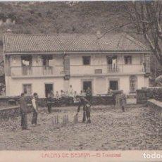 Postales: LOS CORRALES DE BUELNA (CANTABRIA) - CALDAS DE BESAYA - EL TRANSVAAL. Lote 83681992