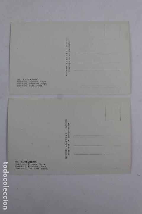 Postales: P- 6633. POSTAL SANTANDER Nº 79 Y 152. ARRIBAS. - Foto 6 - 84620052