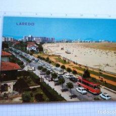 Postales: POSTAL Nº 55 - CANTABRIA - LAREDO, LA PLAYA - ED. ARRIBAS 1970. Lote 85836064