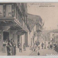 Postales: LIÉRGANES CANTÓN. LIBRERIA DE M. ALBIRA. SANTANDER. SIN CIRCULAR.. Lote 86297512