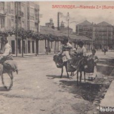 Postales: SANTANDER - ALAMEDA 2ª (BURRERAS). Lote 86403004