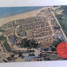 Postales: LAREDO-CAMPING DERBY-TARJETA POSTAL. Lote 86759080