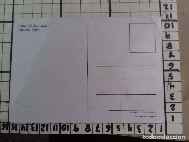Postales: LAREDO-CAMPING DERBY-TARJETA POSTAL - Foto 2 - 86759080