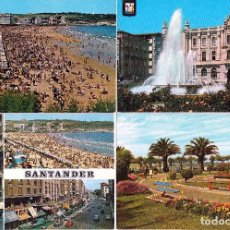 Postales: SANTANDER . LOTE 18 POSTALES ORIGINALES DIFERENTES .(20-05) (5 FOTOS). Lote 87303228