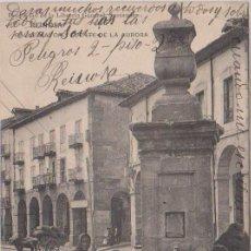 Postais: REINOSA (CANTABRIA) - CALLE MAYOR Y FUENTE DE LA AURORA - LIBRERIA GENERAL - SANTANDER. Lote 87390504