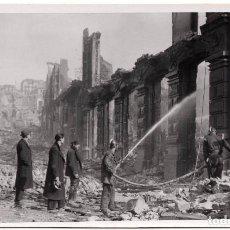 Postales: POSTAL FOTOGRAFICA DE SANTANDER - INCENDIO DEL 15 - FEBRERO - 1941. Lote 87539248