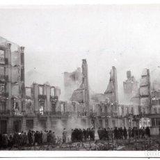 Postales: POSTAL FOTOGRAFICA DE SANTANDER - INCENDIO DEL 15 - FEBRERO - 1941. Lote 87539580