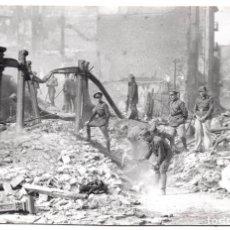 Postales: POSTAL FOTOGRAFICA DE SANTANDER - INCENDIO DEL 15 - FEBRERO - 1941. Lote 87539832