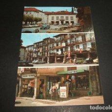 Postales: SAN VICENTE DE LA BARQUERA CANTABRIA PLAZA DEL MERCADO. Lote 87629644