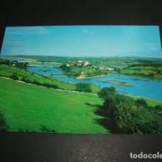 Postales: SAN VICENTE DE LA BARQUERA CANTABRIA ENTRE MARES. Lote 87629700