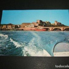 Postales: SAN VICENTE DE LA BARQUERA CANTABRIA PUENTE NUEVO CASTILLO E IGLESIA. Lote 87629756