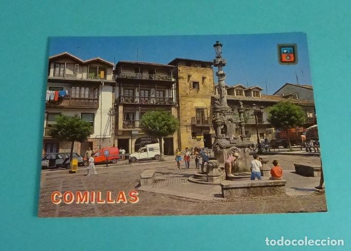PLAZA DE LOS ARZOBISPOS. COMILLAS. CANTABRIA (Postales - España - Cantabria Moderna (desde 1.940))