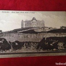 Postales: POSTAL SANTANDER-HOTEL REAL. Lote 89441044