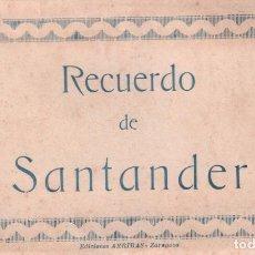 Postales: RECUERDO DE SANTANDER - EDICIONES ARRIBAS / 10 VISTAS P.MUNDI/CANT-23. Lote 89811888