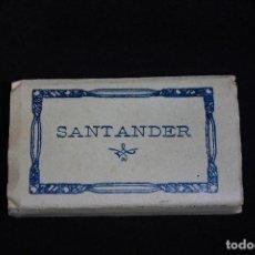 Postales: RECUERDO DE SANTANDER 16 POSTALES EN ACORDEON, FOTOS DE L.ROISIN. Lote 91203370