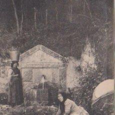 Postales: SAN ESTEBAN DE PRAVIA (ASTURIAS) - FUENTE DE ROQUE. Lote 93203470