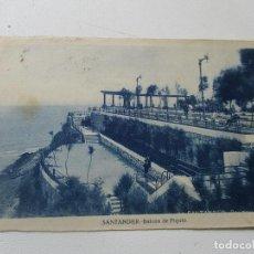 Postales: ANTIGUA TARJETA POSTAL, SANTANDER, BALCÓN DE PIQUÍO-1940- CIRCULADA. Lote 94666031