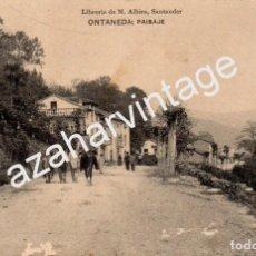 Postales: ONTANEDA (CANTABRIA).- PAISAJE. Lote 95328367