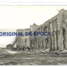 Postales - (PS-52694)POSTAL FOTOGRAFICA DE SANTANDER-CALLE CASTILLA,DESTRUIDA EN EL AÑO 1893 - 96696875