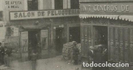 Postales: (PS-52691)POSTAL FOTOGRAFICA DE SANTANDER-CALLE SAN FRANCISCO.BARRICADAS,REVOLUCION AÑO 1868 - Foto 3 - 96698199