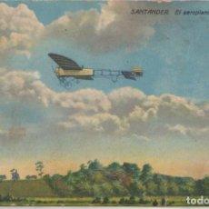Postales: SANTANDER (CANTABRIA) - EL AEROPLANO DE POMBO. Lote 96806483
