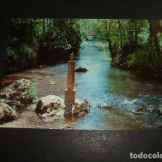 Postales: FONTIBRE CANTABRIA NACIMIENTO DEL RIO EBRO. Lote 97099791