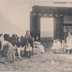 Postales: SANTANDER - (CANTABRIA) CUADRO DE ALDEA . Lote 97342911