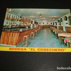 Postales: TORRELAVEGA CANTABRIA EL COSECHERO BODEGA RESTAURANTE. Lote 97431755