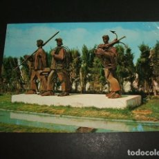 Postales: LAREDO CANTABRIA MONUMENTO AL PESCADOR. Lote 97675111