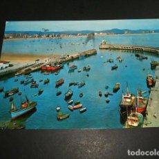 Postales: LAREDO CANTABRIA EL PUERTO Y LA PLAYA. Lote 97677031