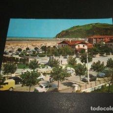 Postales: LAREDO CANTABRIA ENTRADA A LA PLAYA Y PUERTO. Lote 97728399