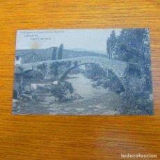 Postales: ANTIGUA POSTAL LIÉRGANES, PUENTE ANTIGUO. Lote 97808019