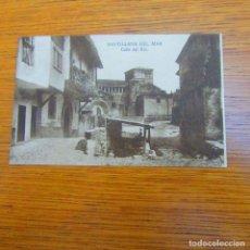 Postales: ANTIGUA POSTAL SANTILLANA DEL MAR, CALLE DEL RÍO. Lote 97808207