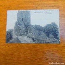 Postales: ANTIGUA POSTAL SAN VICENTE DE LA BARQUERA, EL CASTILLO. Lote 97808275