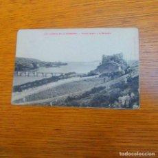 Postales: ANTIGUA POSTAL SAN VICENTE DE LA BARQUERA, PUENTE NUEVO Y LA BARQUERA. Lote 97808331