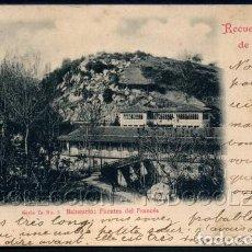 Postales: POSTAL RECUERDO DE SANTANDER BALNEARIO FUENTES DEL FRANCES . DUOMARCO CA AÑO 1900 O ANTERIOR.. Lote 98693439