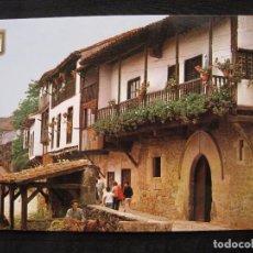 Postales: POSTAL SANTILLANA DEL MAR ( SANTANDER ) - CALLE DEL RIO.. Lote 98798327