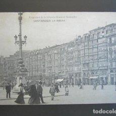 Cartes Postales: POSTAL SANTANDER. LA RIBERA. PROPIEDAD DE LIBRERÍA GENERAL. CIRCULADA. AÑO 1906. . Lote 99428047