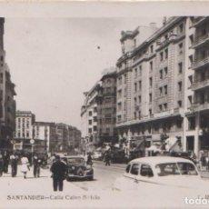 Postales: SANTANDER - (CANTABRIA) - CALLE CALVO SOTELO. Lote 99570943