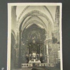 Cartoline: POSTAL LAREDO. NAVE CENTRAL DE LA IGLESIA DE SANTA MARÍA. . Lote 99637495