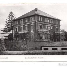 Postales: POSTAL DE CASTRO - URDIALES RESIDENCIA PEDRO VELARDE. 1961. Lote 100028047