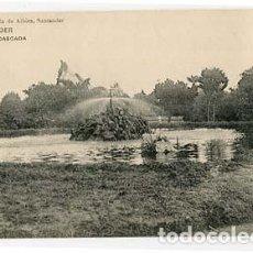 Postales: SANTANDER LA CASCADA. ED LIBRERIA VIUDA DE ALBIRA. FOTOTIPIA HAUSER Y MENET. Lote 101039779