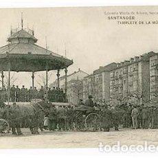 Postales: SANTANDER TEMPLETE DE LA MUSICA ED LIBRERIA VIUDA DE ALBIRA. FOTOTIPIA HAUSER Y MENET. Lote 101039863